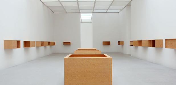 Donald Judd, Untitled (3 Floor Boxes), 1978