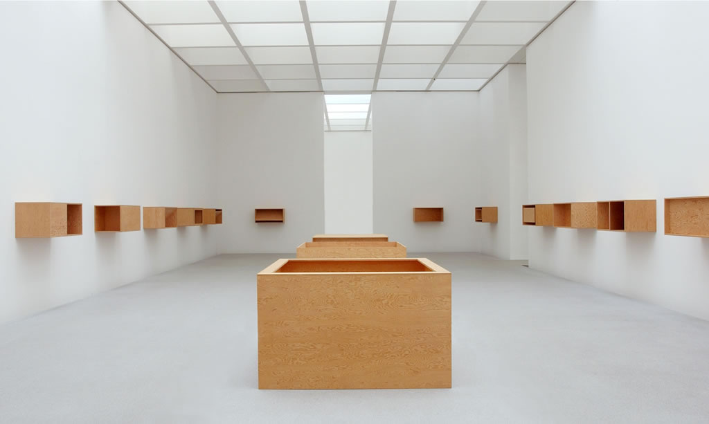 Fesselnd Donald Judd, Untitled (3 Floor Boxes), 1978